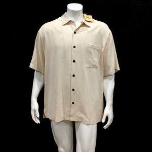 Tommy Bahama Men's Martini Logo Hawaiian Shirt